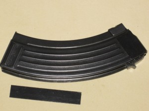 10/30 Croatian Bolt Hold Open AK-47 Steel 7.62x39 Blocked Mag