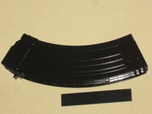 10/30 KCI Korean AK-47 7.62x39 Black Steel Blocked Magazine