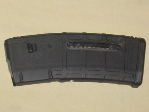 10/30 Magpul Black AR-15 5.56 Window Front Rivet PMAG