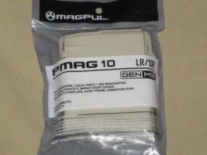 Magpul Gen 3 10rd .308 LR Sand PMAG