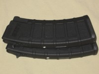 2 Pack of 9/30 Magpul AK-74 5.45x39 PMAGS, too high, only holds 9