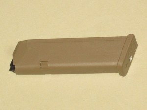 10/17 Glock 17 / 19X Factory 9mm Coyote Magazine w/ MAGBLOCK