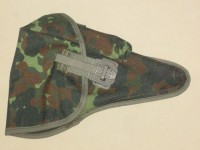 German P38 Flecktarn Camo Holster