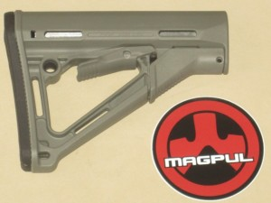 Magpul CTR AR-15 Collapsible Milspec Stock Foliage Green