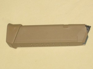 Glock 17 / 19X Factory 9mm 19rd Coyote Brown Magazine