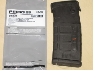 10/25 Magpul Blocked Window .308 LR PMAG w/ MAGBLOCK