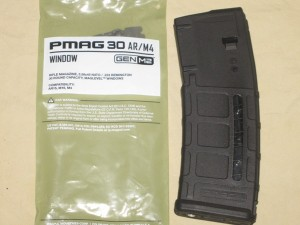 10/30 Magpul Blocked AR-15 Black Window PMAG w/ MAGBLOCK