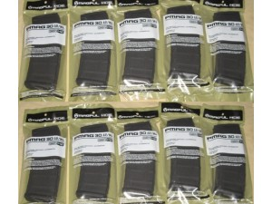 Magpul MOE M2 30rd 5.56 AR-15 PMAGs - 10 Pack