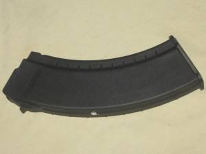 10/30 Tapco AK-47 7.62x39 Black Smooth Side Rear Rivet Mag