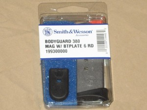 Smith & Wesson Body Guard 6rd .380 Magazine