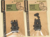 Magpul MBUS Black Gen 2 Flip-up Back Up Sights Set