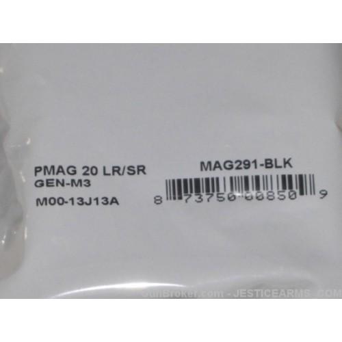 PMags 308 - 7.62 X 51 - 20 Round Black