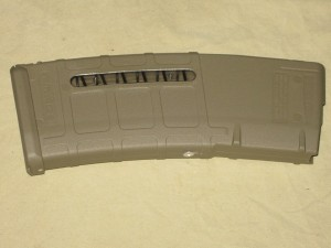 10/30 Magpul AR-15 5.56 WINDOW FDE Front Rivet PMAG